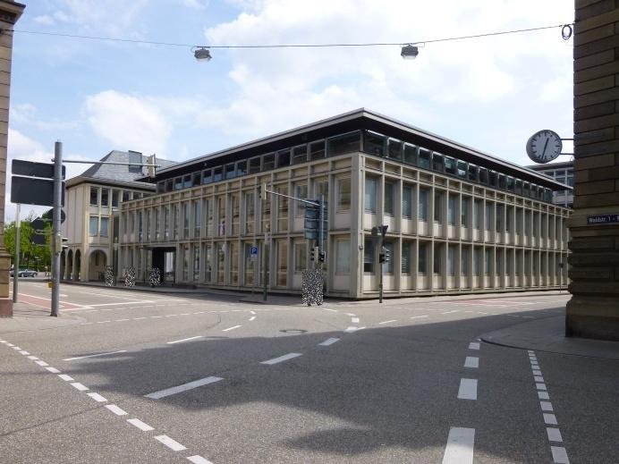 Ansicht Amtsgericht Karlsruhe